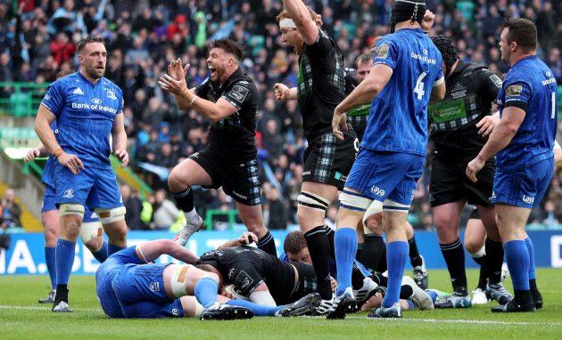 Primera sangre: el intento número 8 de Matt Fagerson le dio a Glasgow una merecida ventaja antes de que las cosas se resolvieran (Inpho)