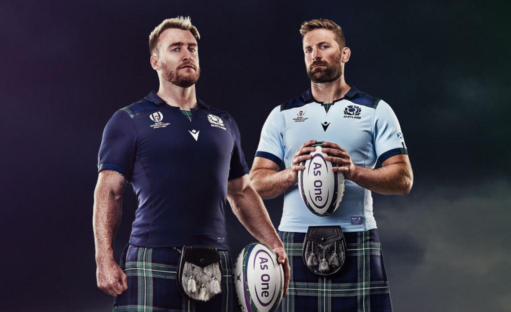 Camiseta Rugby Escocia 2019