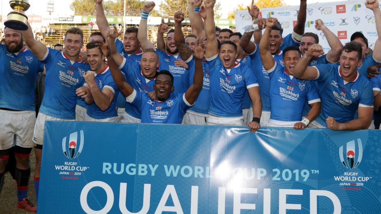 Namibian rugby RWC 2019