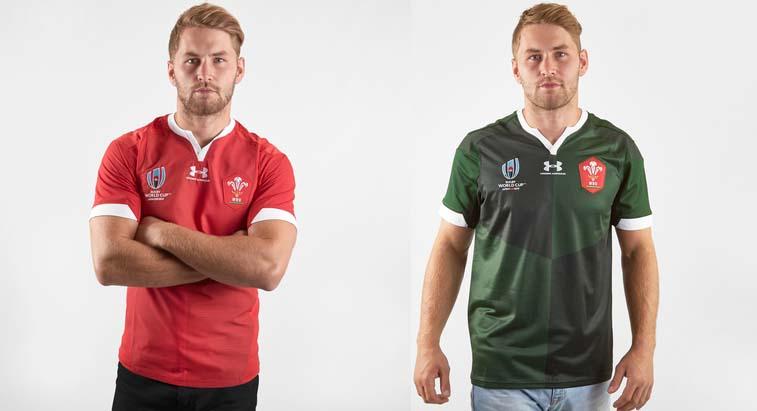 Camiseta Wales rugby rwc 2019