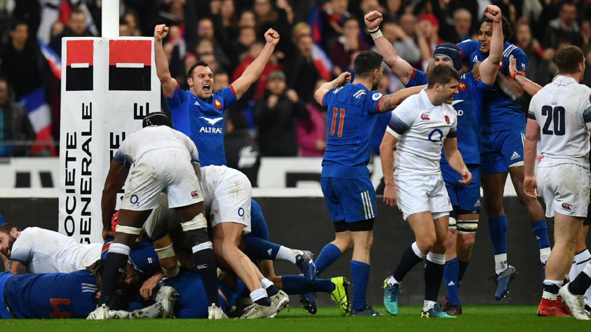 France vs England RWC 2019