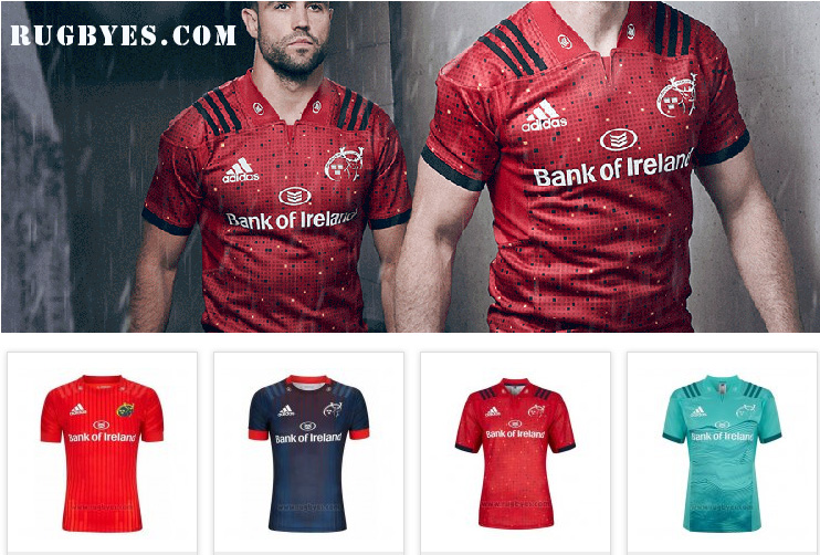Camiseta Rugby Munster-RUGBYES