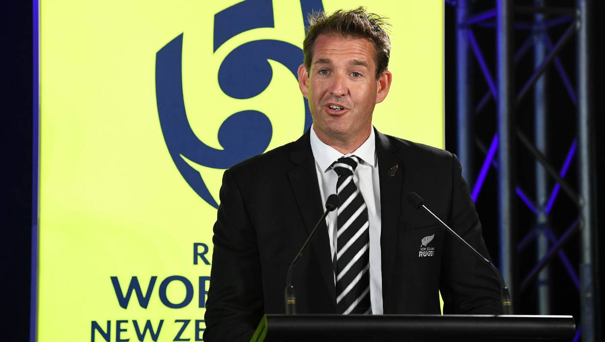 El director ejecutivo de Rugby de Nueva Zelanda, Mark Robinson, ya ha tenido que lidiar con grandes desafíos en su mandato en la cima