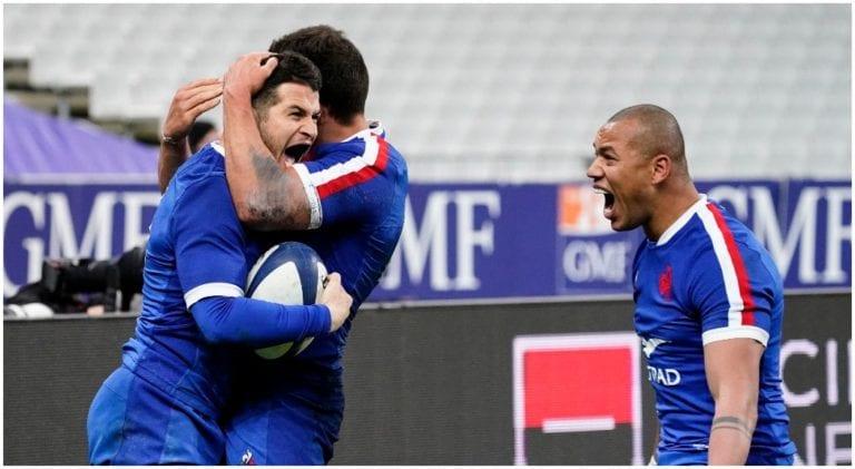 camisetas rugby Francia